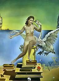 Leda Atomica, 1949, huile sur toile, Salvador Dali