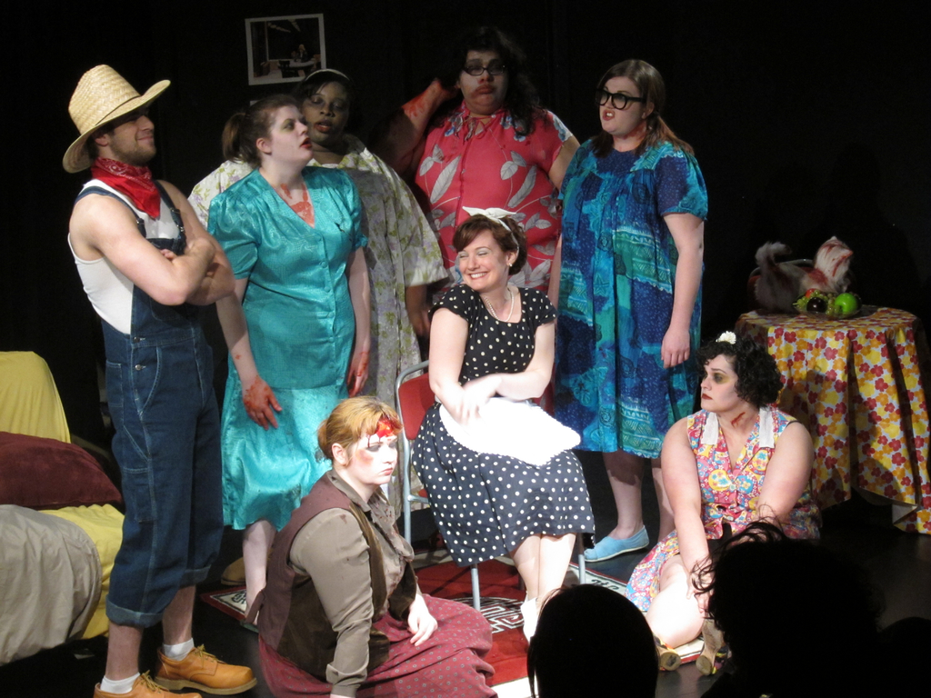 "Jimmy, the ghombies & Abigail, ""13 Fat Girls & a Dead Cat"""