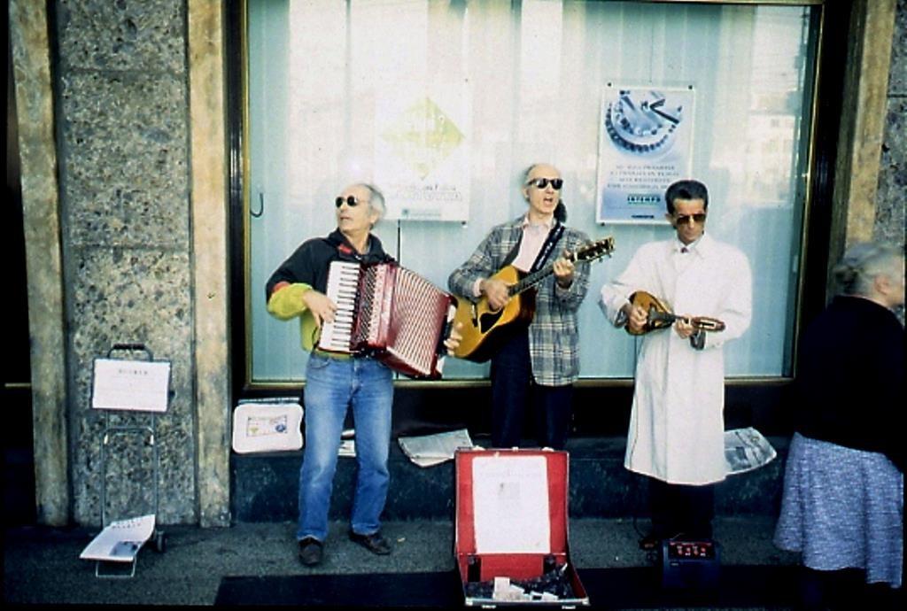 I Fateciricchi in trio Porta Ticinese 1996