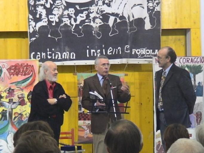 MOSTRA INCANTATA BRESSO (MI) 2005 CON PREFETTO MILANO E SINDACO BRESSO