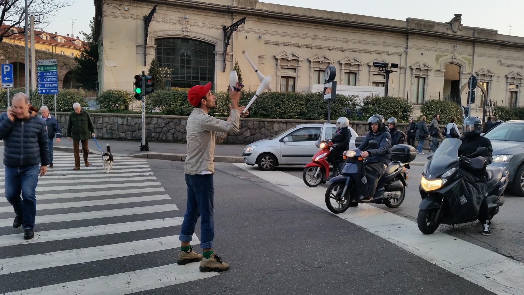 Giocoliere Porta Romana 2015