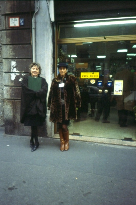 Intervistatrici Corso san Gottardo 1992
