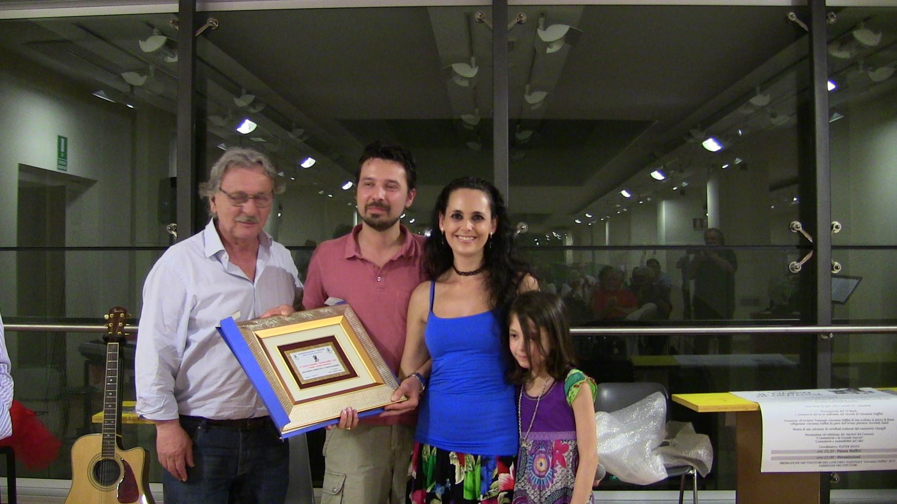 Andrea Belmonte e Valentina Pira 1° Premio Concorso G. Daffini