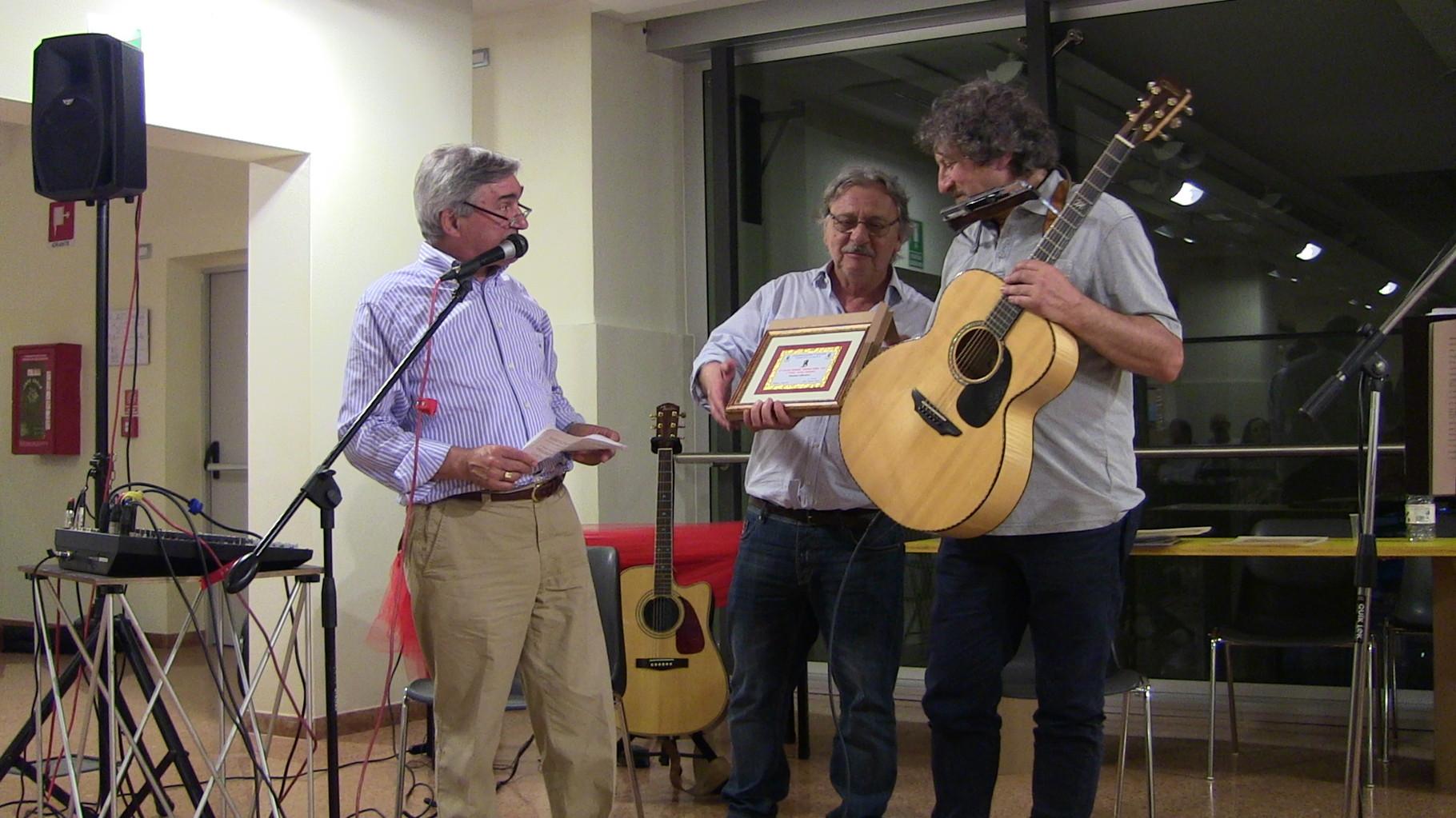 Premiazione Massimo Liberatori 2° Premio Concorso G. Daffini