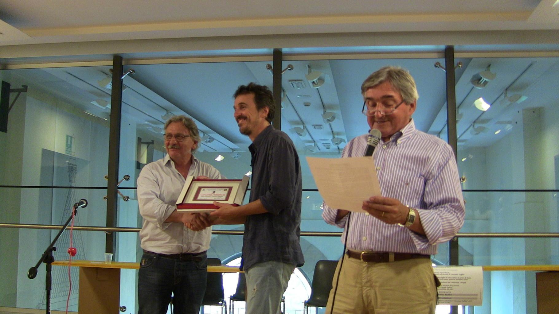Premiazione Fabio Bonvicini 1° Premio Cantastorie e Grande Guerra
