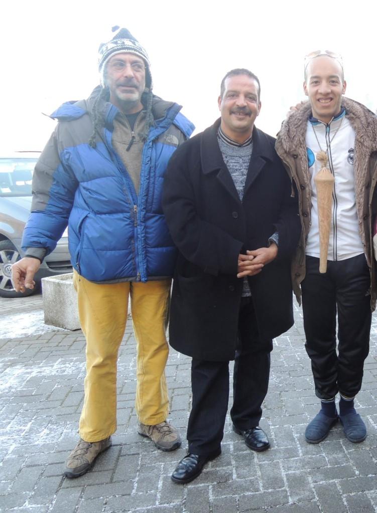 DOMENICO STAITI con due musicisti marocchini