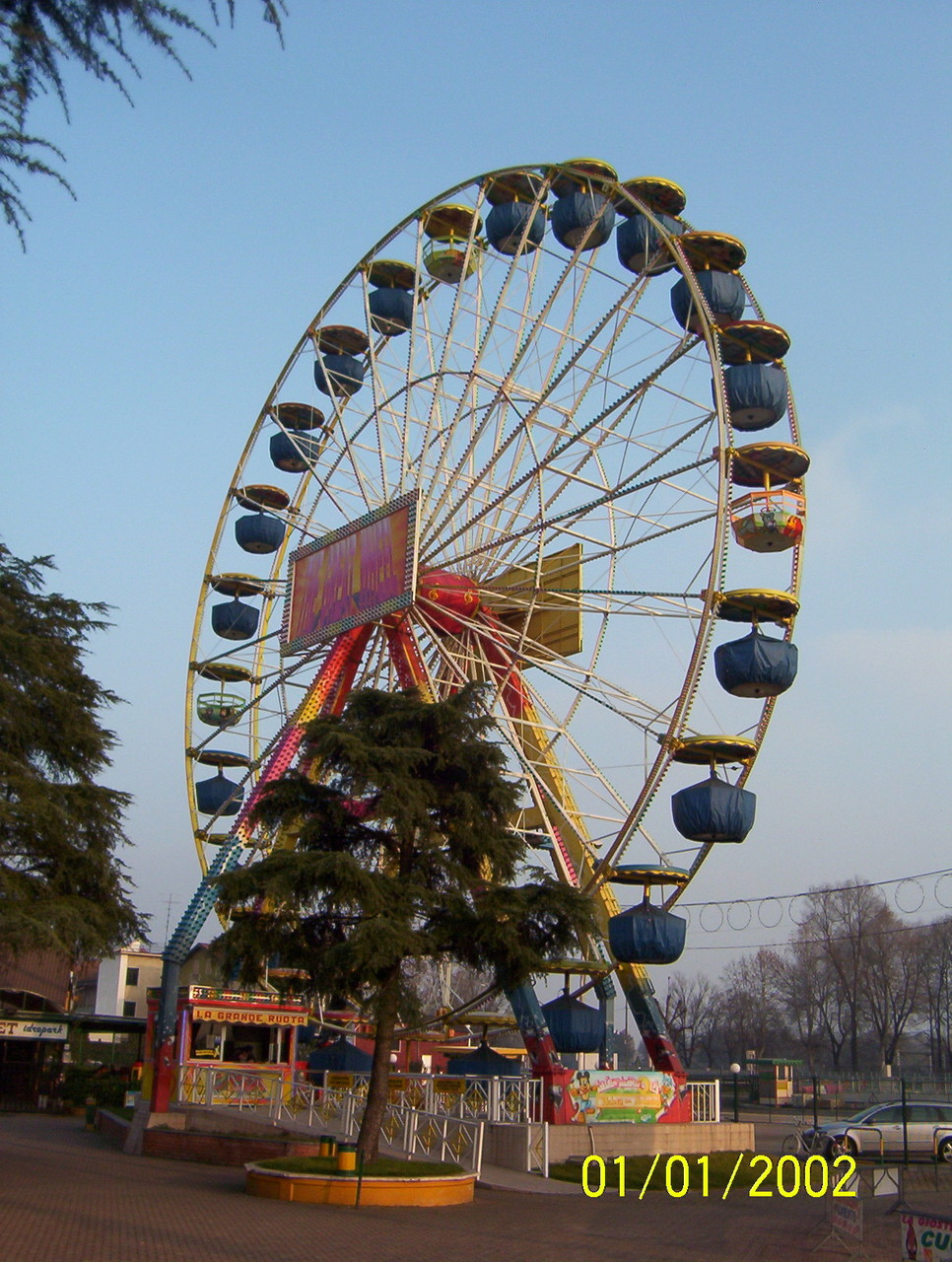Ruota Luna Park Idroscalo
