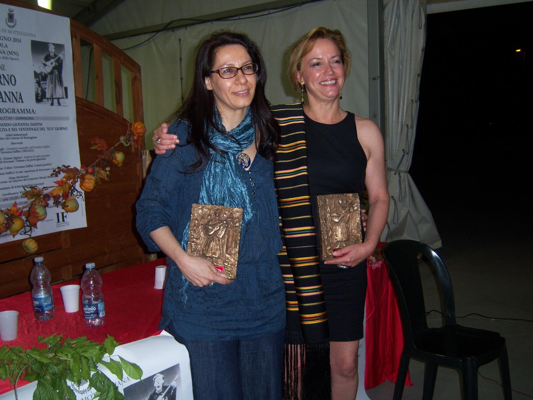 Giada Salerno e Francesca Prestia