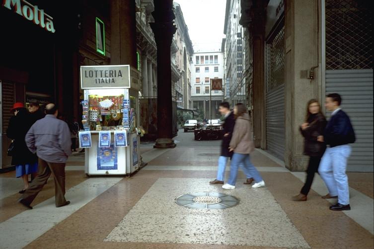 Banco biglietti Lotteria  Portici piazza Duomo 1997