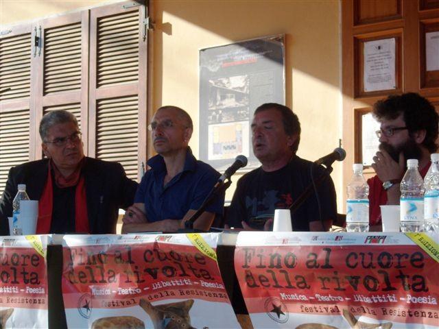 Nino ed Emanuele Buttitta, Stefano Arrighetti, Alessio Giannanti