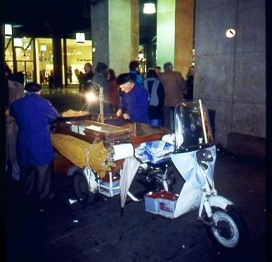 Vendita caldarroste 1994