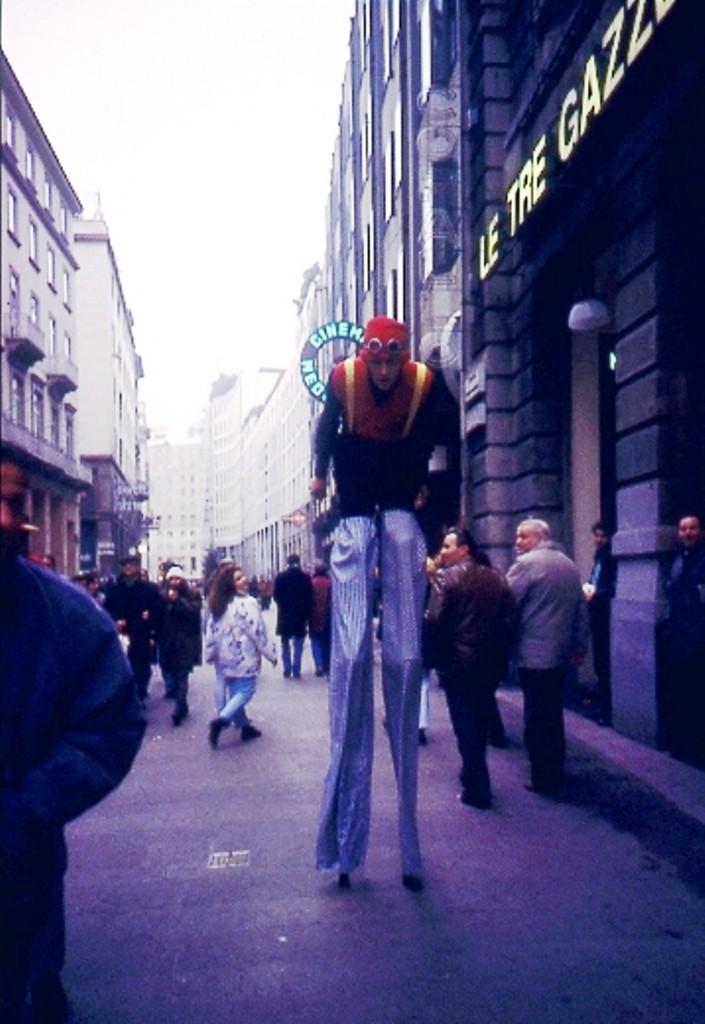 Trampolista 2001