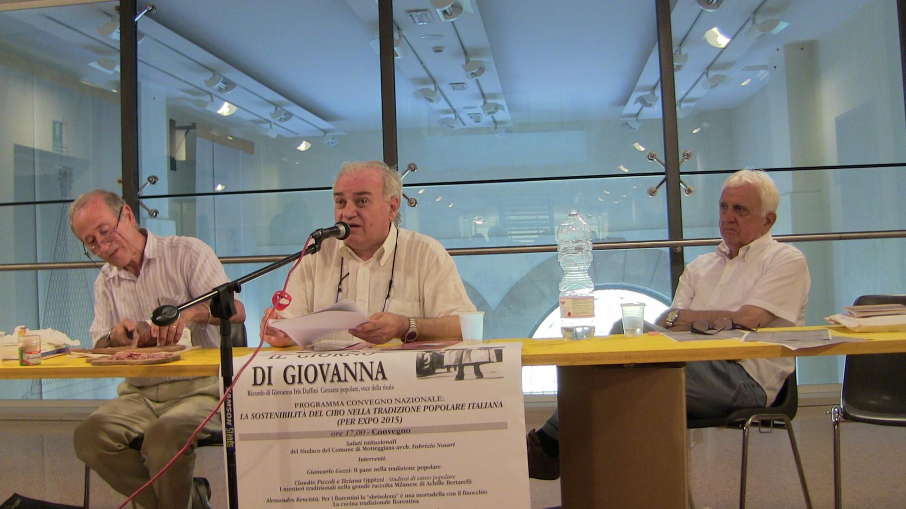 Alessandro Bencistà, Gian Paolo Borghi, Giancarlo Gozzi
