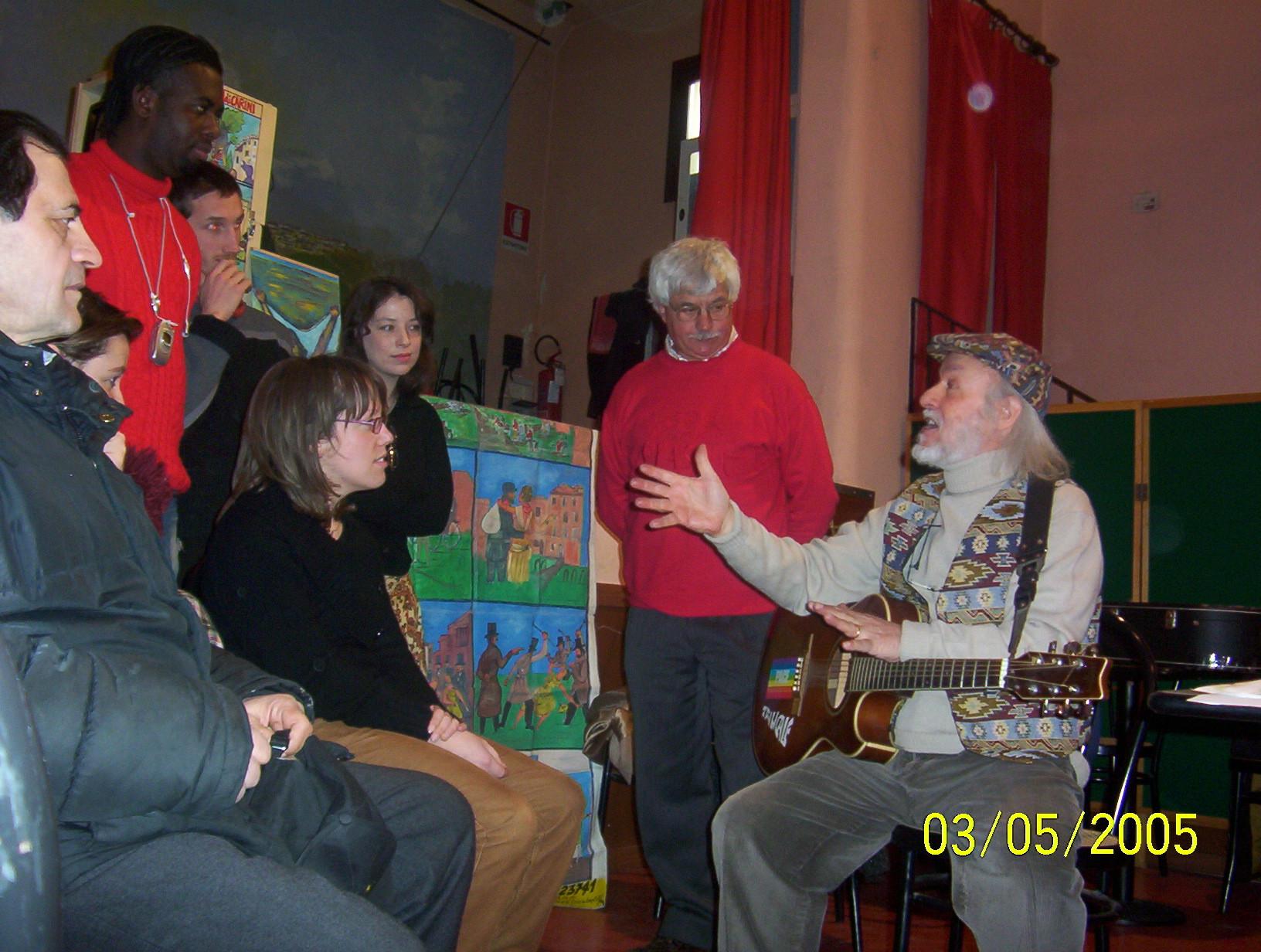 ARCI BELLEZZA MILANO LABORATORIO PER CANTASTORIE 2005