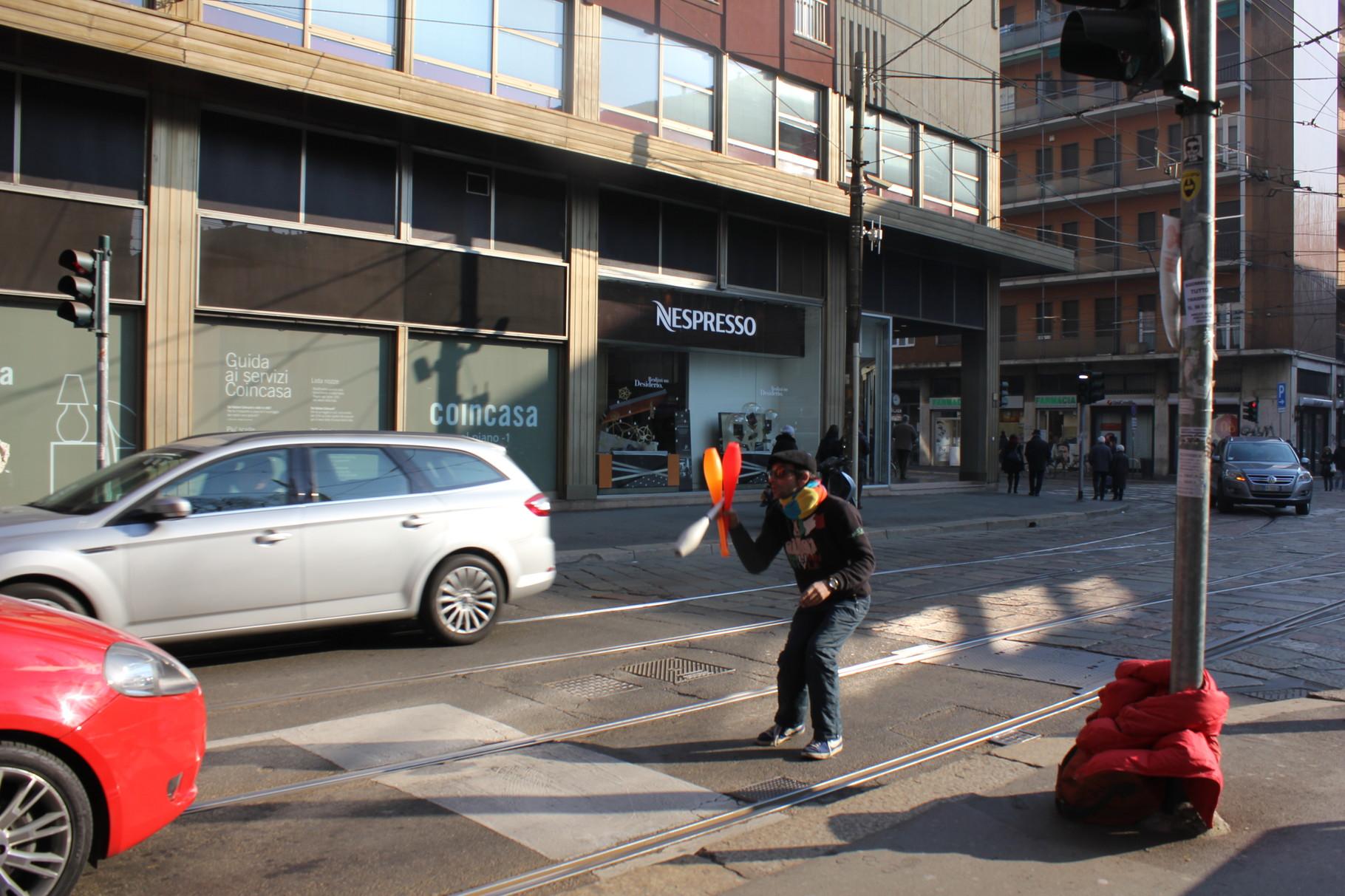 Giocoliere Corso Genova 2016