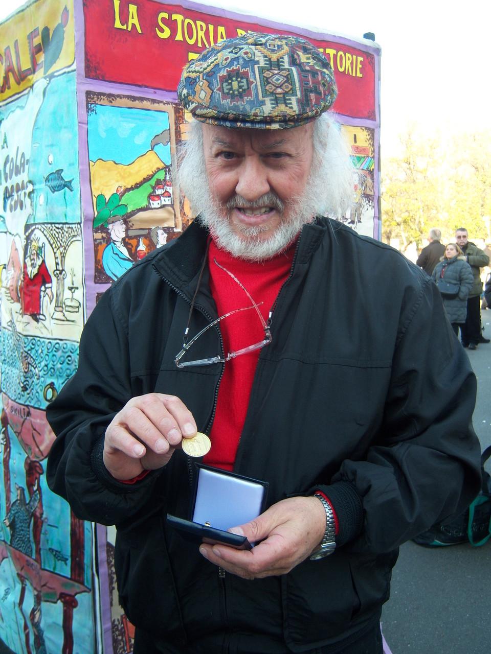 PIAZZA CASTELLO 2008 FIERA OH BEJ OH  BEJ  MEDAGLIA AMBROGINO D'ORO