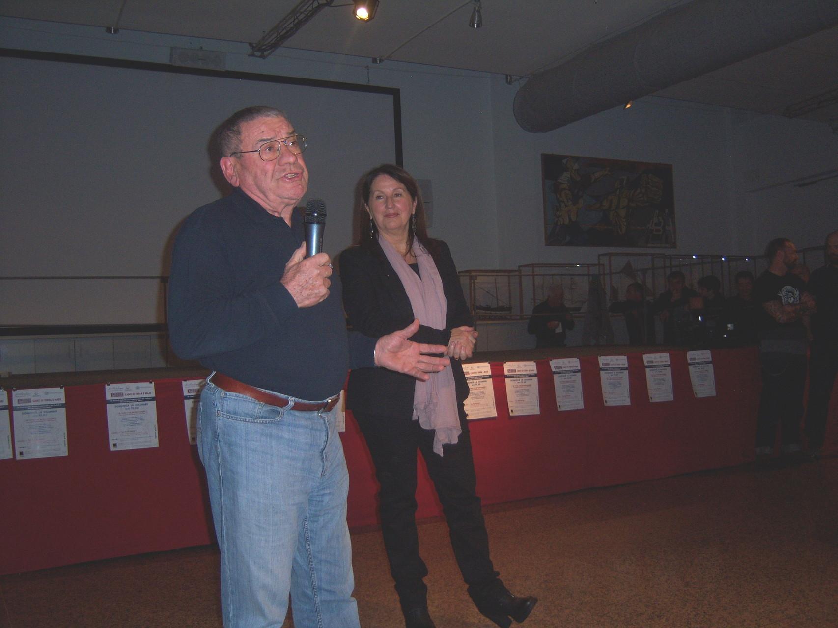 PRESENTAZIONE FESTIVAL CON IL PRESIDENTE DEL CIRCOLO AUTORITA' PORTUALE & SOCIETA' DEL PORTO