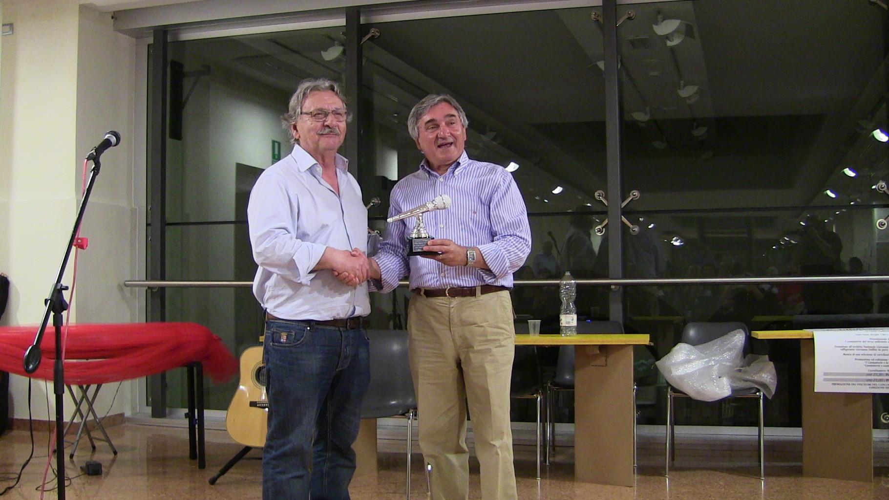 Premiazione Wainer Mazza per i suoi 40 anni di attività artistica