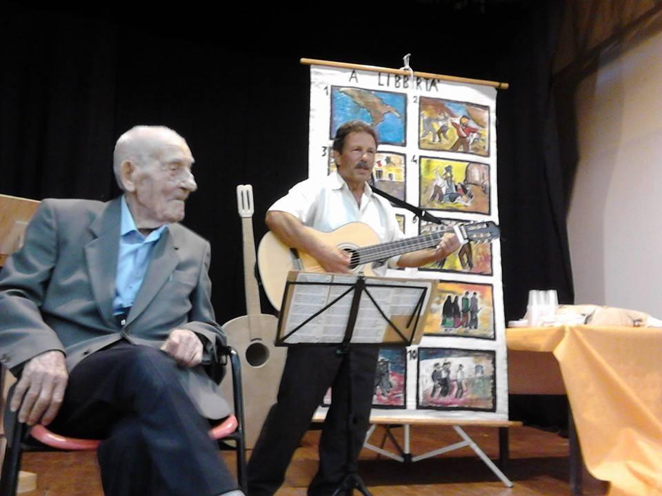 Peppino Castello per i 100 anni del cantastorie Paolo Garofalo