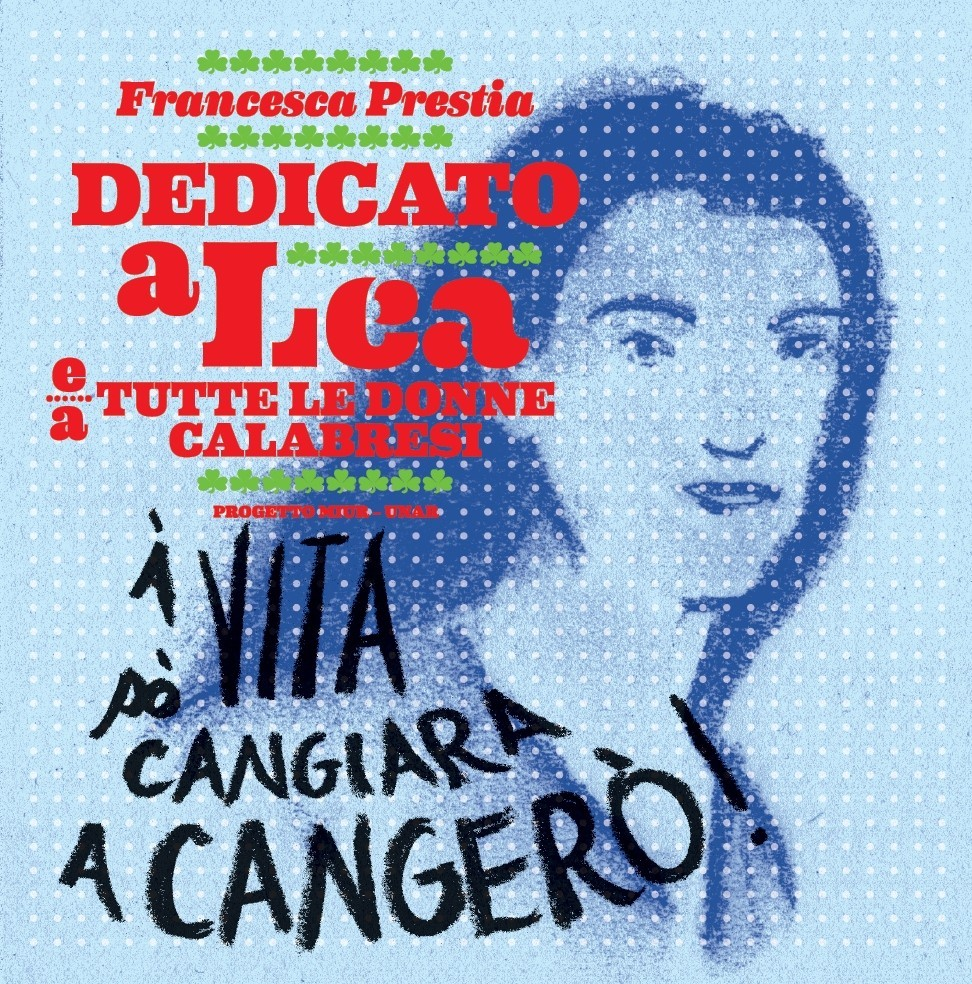 Copertina CD con la storia di Lea Garofalo