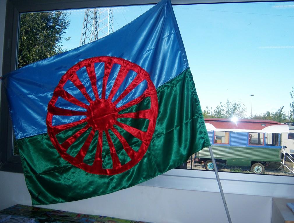 la bandiera Rom