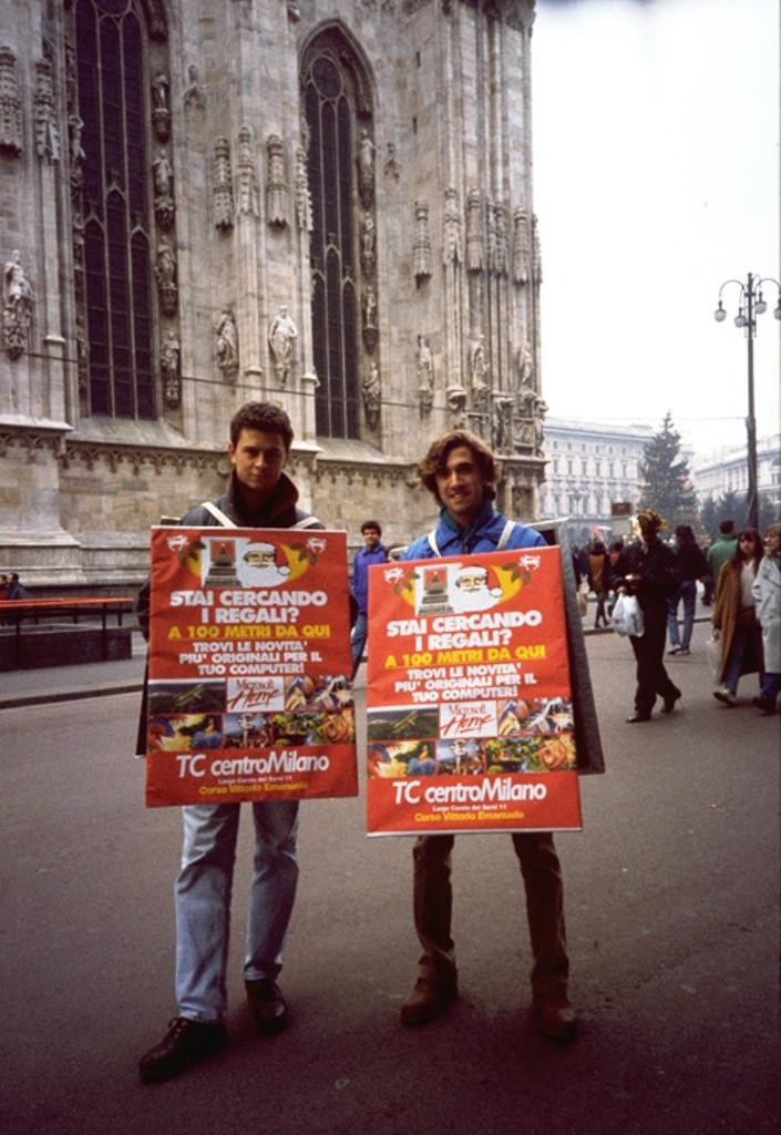 Uomini pubblicità 1994