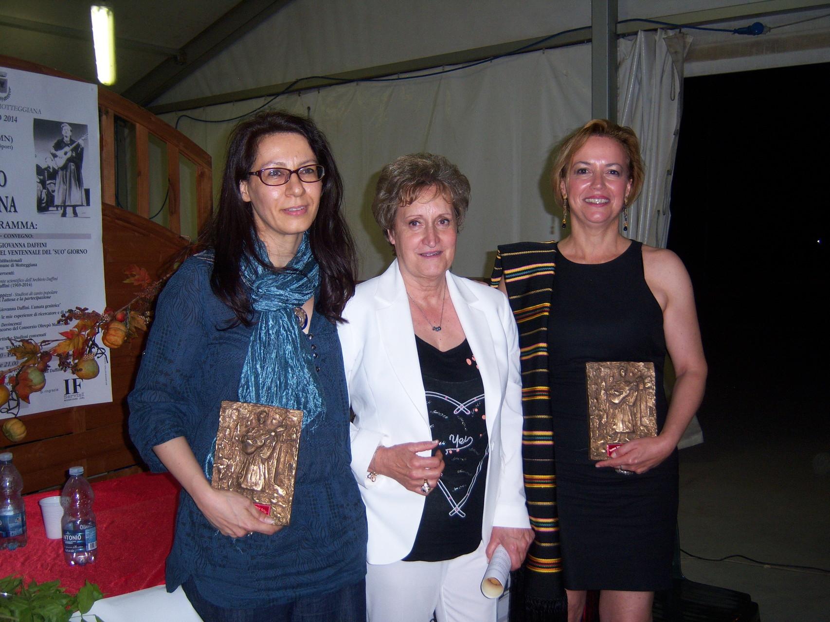 Giada Salerno Agnese Monaldi e Francesca Prestia