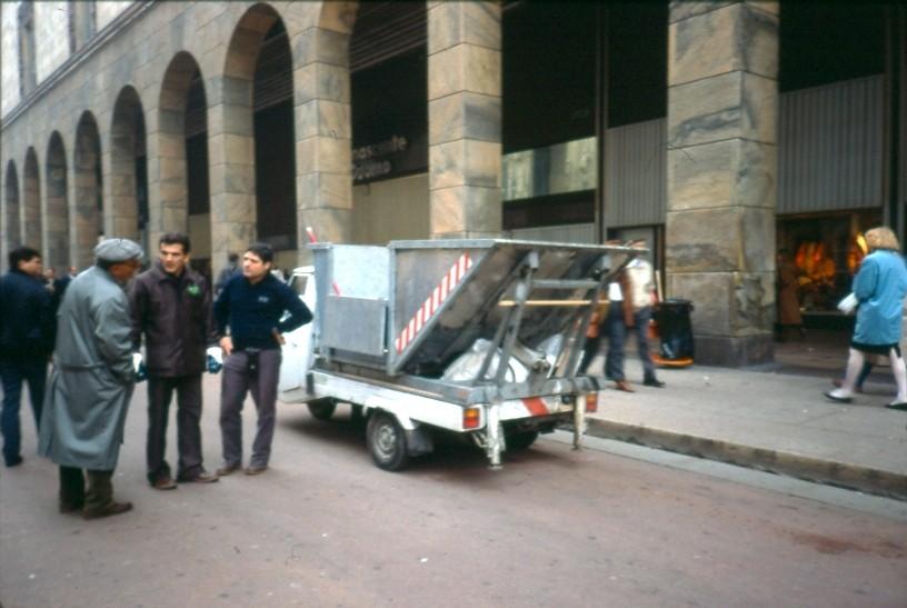 Operatore Ecologico Corso Vittorio Emanuele II 1991
