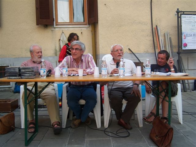 Cesare Bermani, Angelo D'Orsi, Paolo De Simonis e Stefano Arrighetti