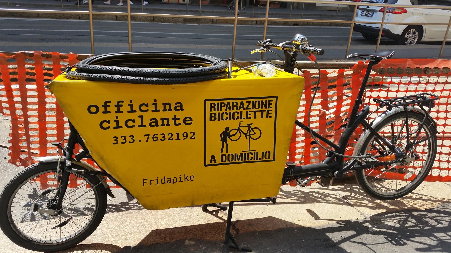 Bici officina mobile 2015