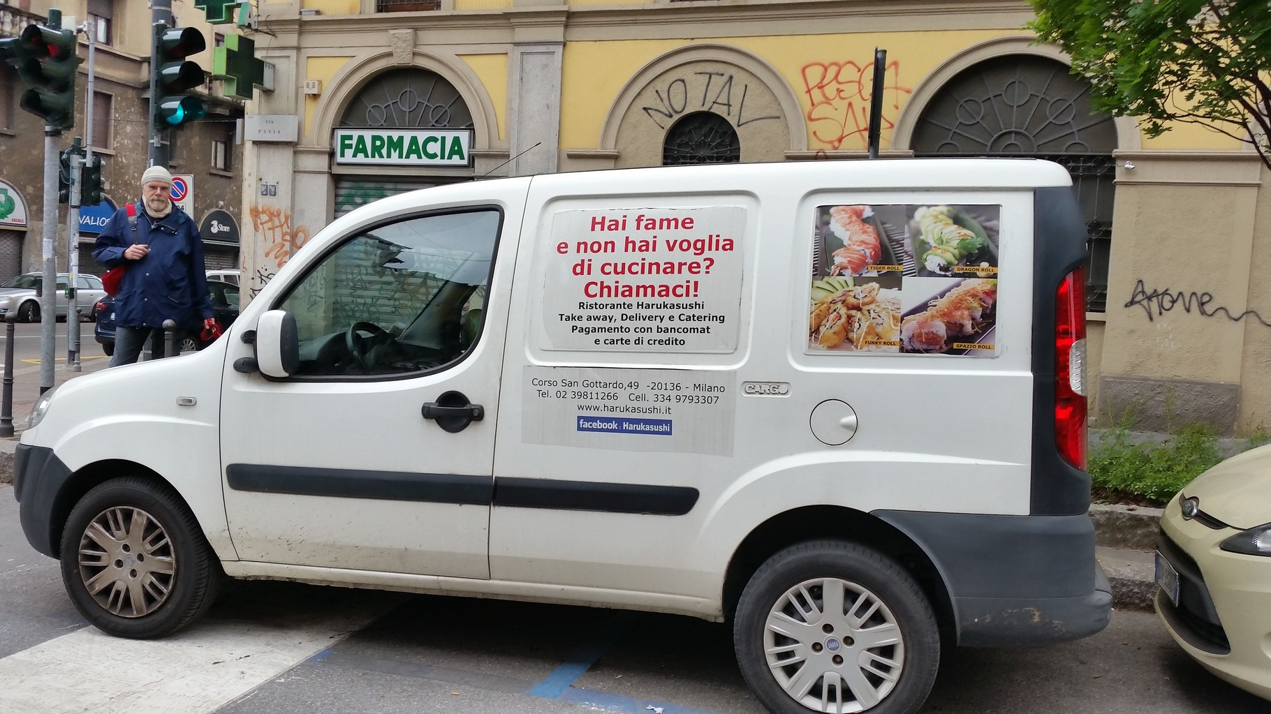 Cibo di strada via Pavia 2015