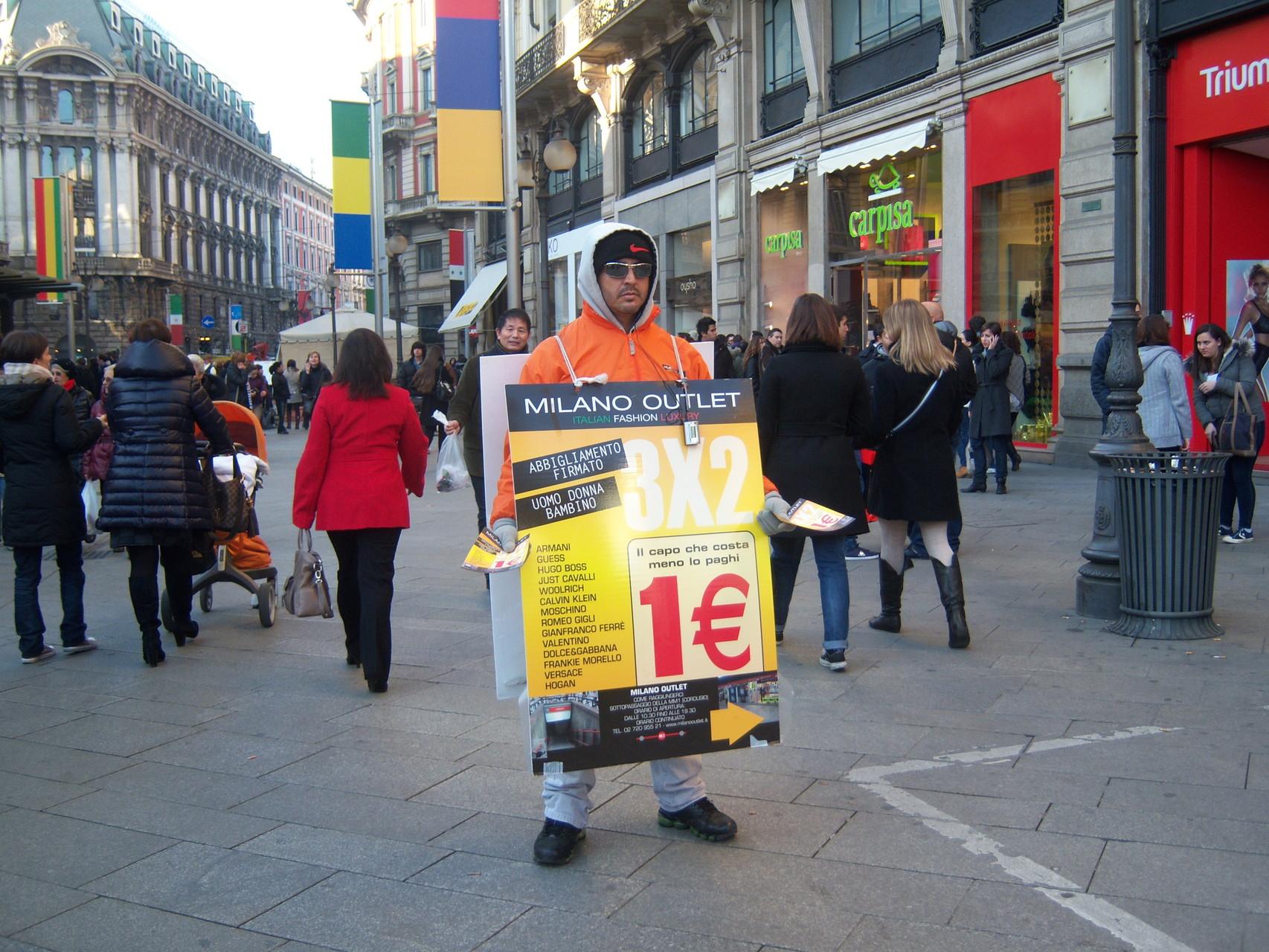 Uomo pubblicità 2011
