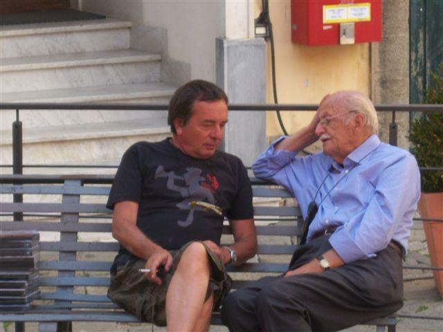 Stefano Arrighetti e Luigi Fiori Partigiano