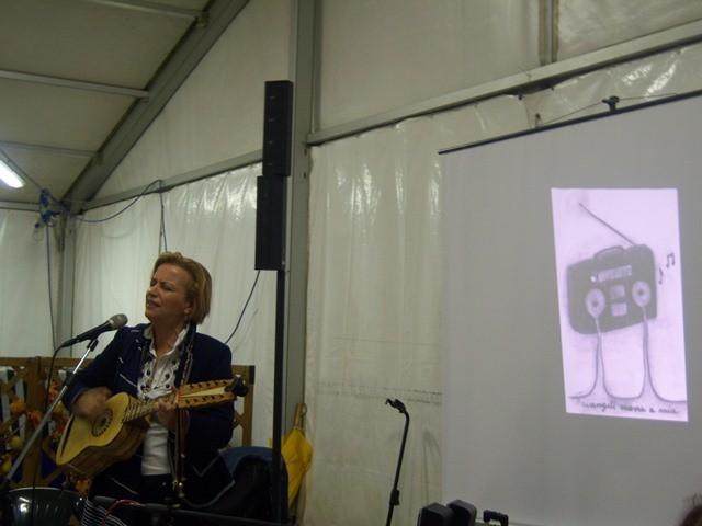 Francesca presenta il suo brano su Lea Garofalo