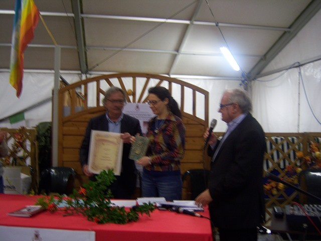 Premiazione di Giada Salerno vincitrice del Premio Daffini