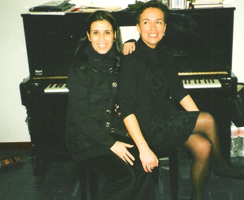 con Beatriz Lozano