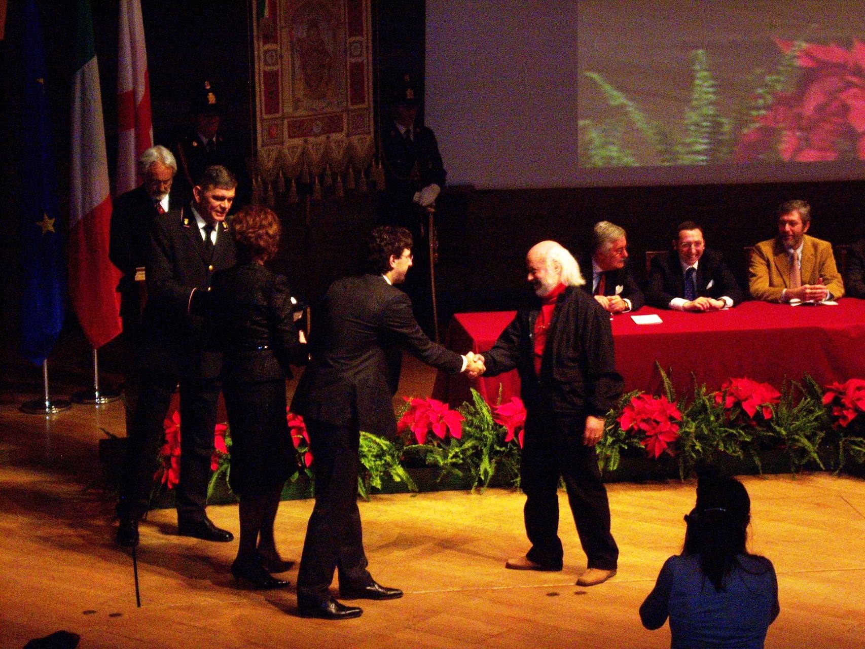 CONSEGNA AMBROGINO D'ORO DICEMBRE 2008
