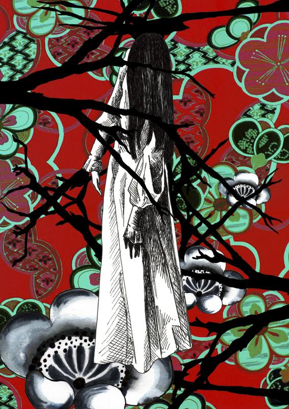 """""""The ring"""" - Impression numérique sur papier beaux arts."""