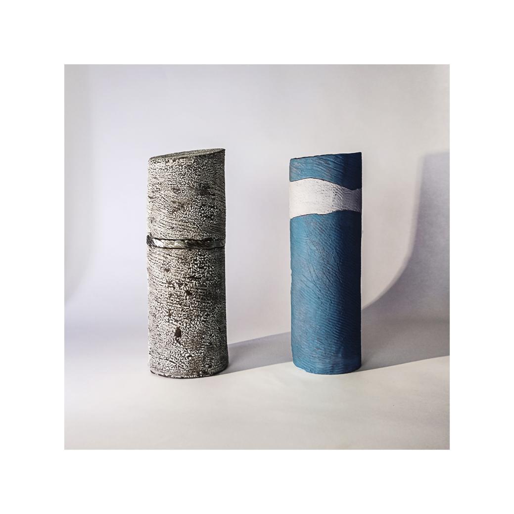 Céramiques - 13x37cm. et 12x36cm.