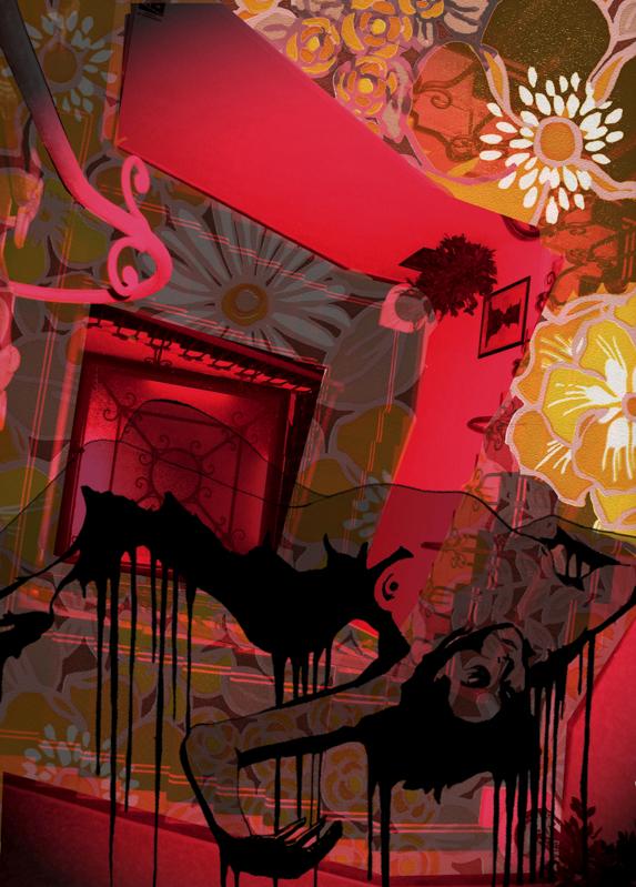 """""""Suspiria"""" - Impression numérique sur papier beaux arts."""