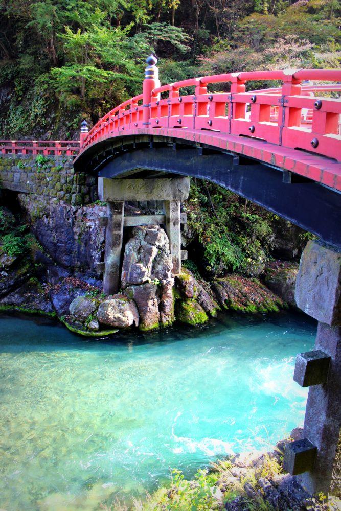 Shinkyo Brücke in Nikko