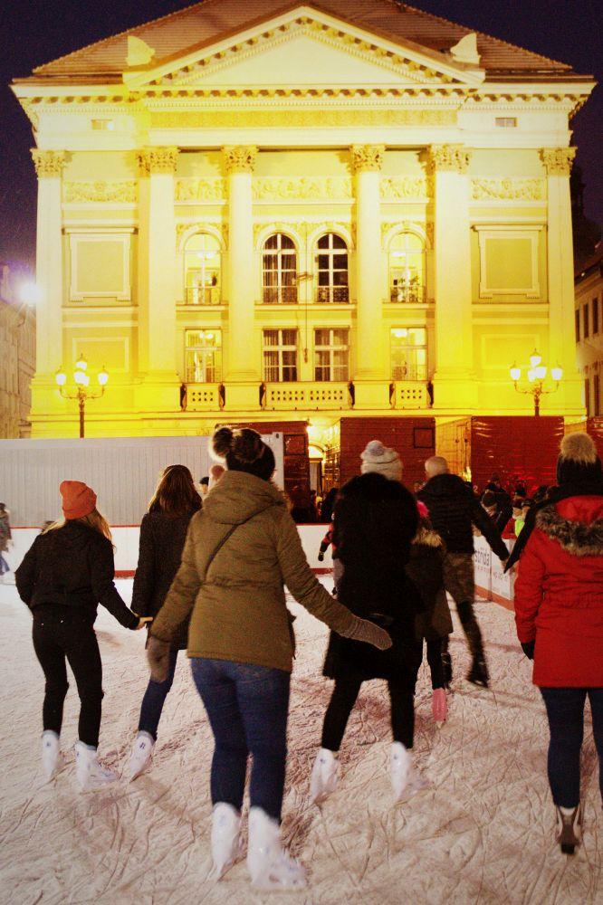 Eislaufen in Prag