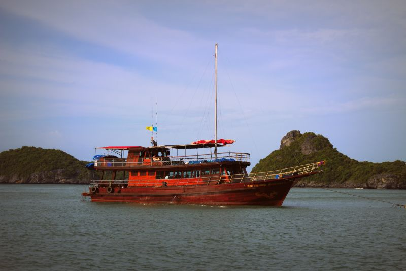 Red Dragon, Schiff, Boot, Koh Samui, Thailand, Die Traumreiser