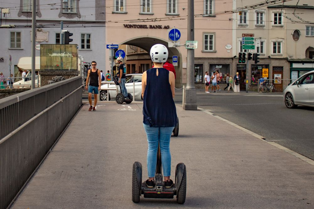 Salzburg, Reisetipps, Sehenswürdigkeiten, Wahrzeichen, Reiseführer, Die Traumreiser, Segway