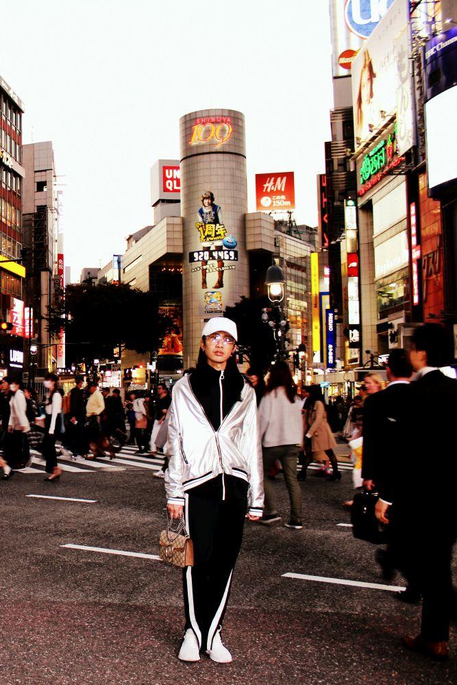 Interessante Gestalten in Shibuya