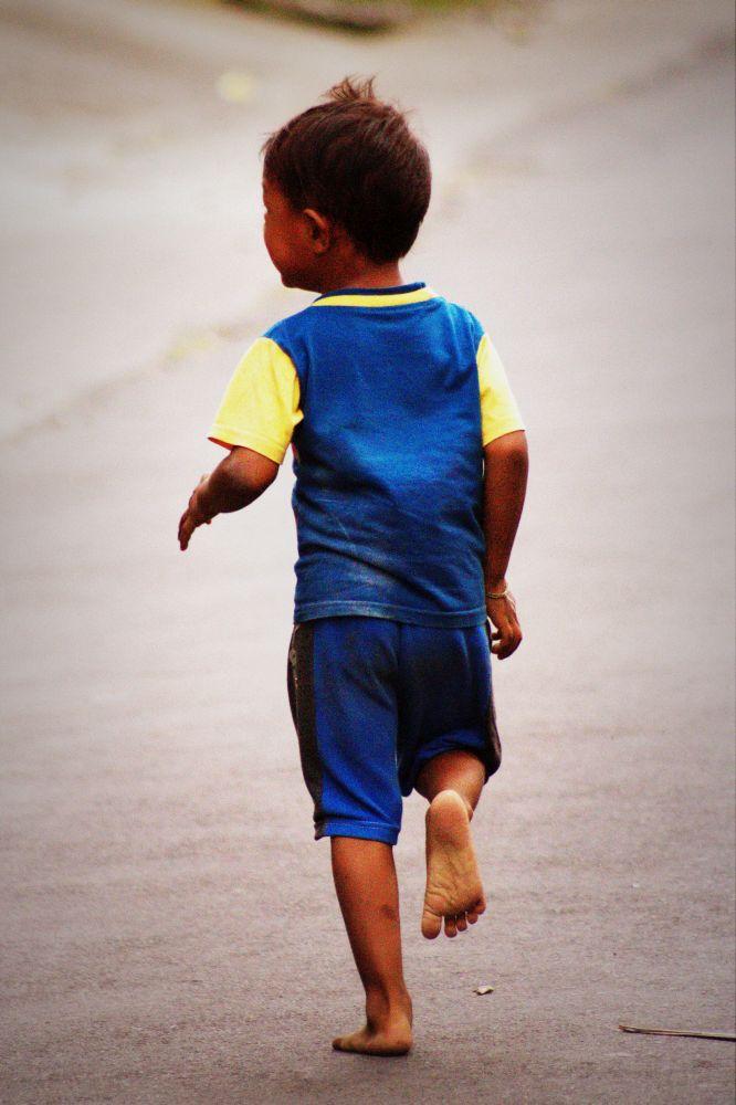 Spielendes Kind, Ubud