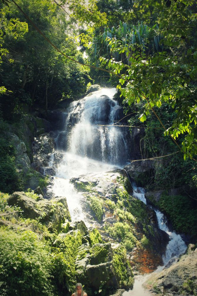 Wasserfall, Koh Samui, Thailand