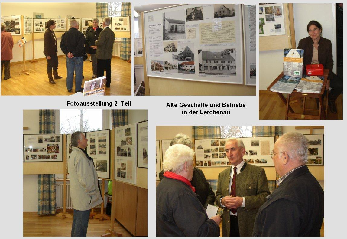 Fotoausstellung: Alte Geschäfte und Betriebe in der Lerchenau 2010