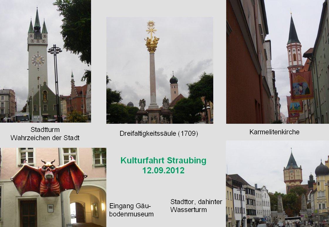 Kulturfahrt nach Straubing