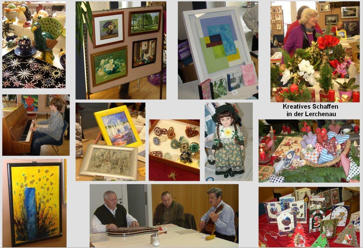 Kreatives Schaffen in der Lerchenau 2010